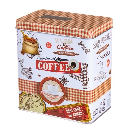 "Коробка для хранения с дозатором ""Coffee"" (8005-016)"