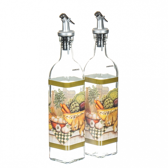Набор  бутылок, 2шт (550мл) (0098J)