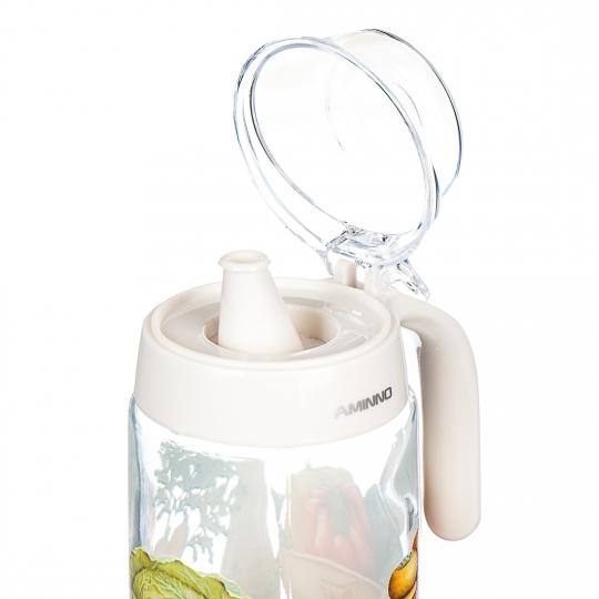 Бутылка с дозатором (550мл) (0103J)