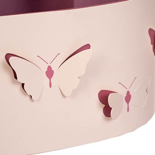 """Набор коробок """"Порхание бабочки 3D"""" 3 шт (8300-014)"""