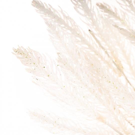 """Еловая ветвь """"Волшебные переливы"""" (серебрянный) (0374JA/B)"""