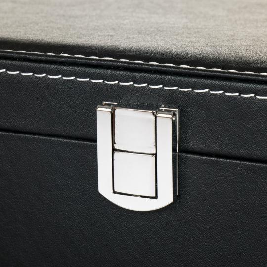 Коробка для часов 10 отделов (27*20*8 см.)