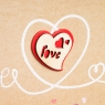 "Фотоальбом ""Love"" 200 фото 10*15 см."