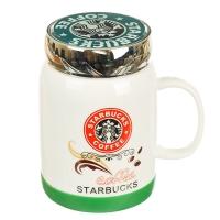 "Кружка ""Starbucks"" (красный логотип), 420мл"