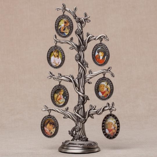 """Фоторамка """"Семейное дерево""""(7 фото,28 см)"""