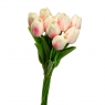 Букет тюльпанов, бело-розовый (8606-006)