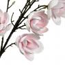 Ветка цветущей магнолии 126 см, розовая (8606-010)