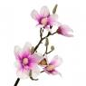 Ветка цветущей магнолии 90 см, розовая (8721-012)