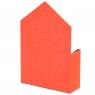 """Коробка для цветов """"Сюрприз"""" (красный цвет), (14*14*18см) (003YA-rd)"""