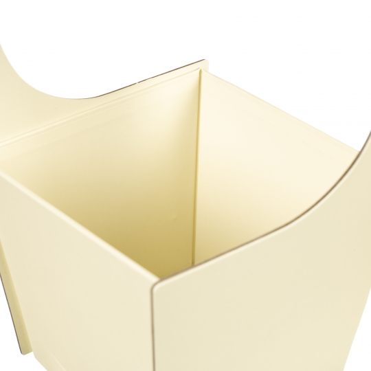 "Коробка для цветов ""Бантик"" (желтый цвет), (20*21*35см) (004YA-yl)"