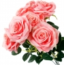 Роза45 см (0126JH)