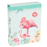 """Фотоальбом """"Фламинго 1"""", 200 фото 10*15"""
