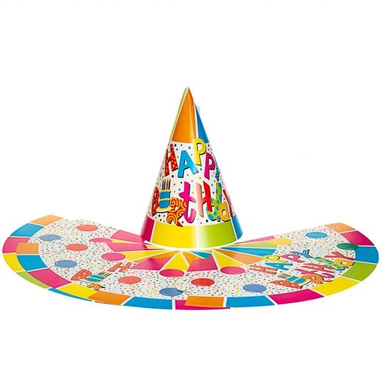 Набор праздничных колпаков *рандомный выбор дизайна (8508-007)
