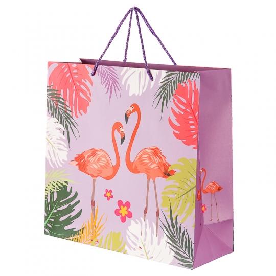 """Пакет подарочный, серия """"Фламинго"""" (33*12*31) (215JH)"""
