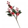 """Ветка """"Вечнозеленое растение с ягодами"""" (027NM)"""