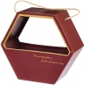 Коробка для цветов (0063J/red)