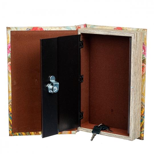 """Книга-сейф """"Девушка в цветах"""" (0001-012)"""
