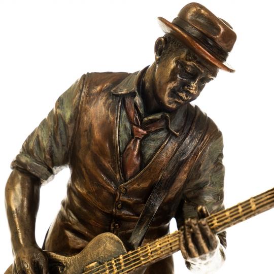 """Статуэтка """"Гитарист Роберт Лерой Джонсон"""" (77180A4)"""