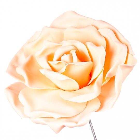 Цветок для фотозоны персиковый (средний) (0385JA-В)