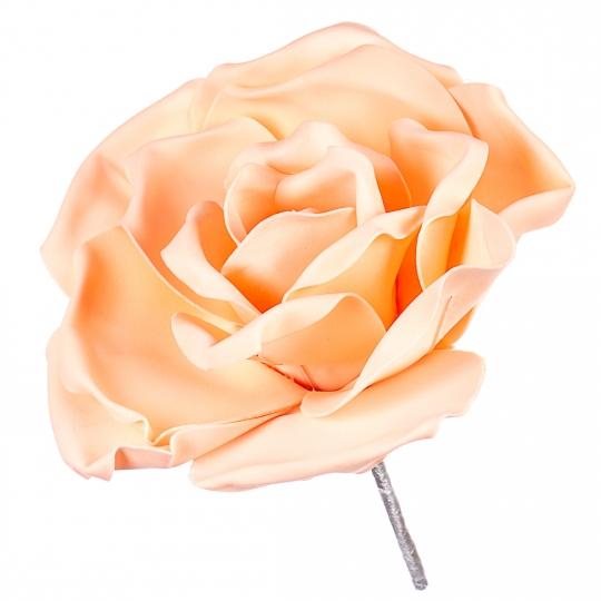 Цветок для фотозон персиковый (большой) (0385JA-С)