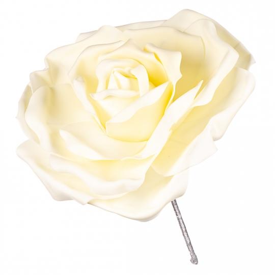 Цветок для фотозоны белый (большой) (0383JA-С)