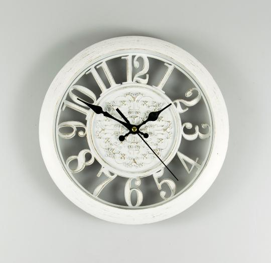 Часы 28 см (068A/white)
