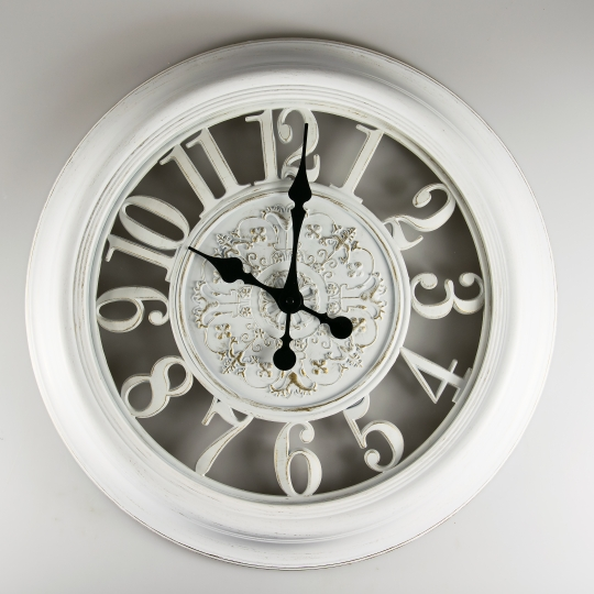 Часы (56 см) (071A/white)