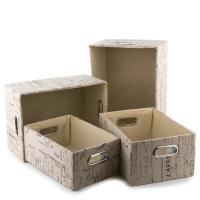 Коробки для хранения (4 шт. 39*30*19 см)