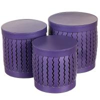 """Набор коробок """"Zigzag"""" (цилиндр,  фиолетовый цвет) шт."""