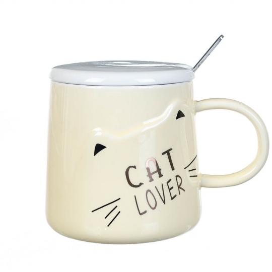 """Чашка """"Cats"""" 300 мл *рандомный выбор дизайна (8200-006)"""