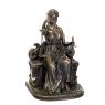 """Статуэтка """"Фемида на троне""""(18 см) (75268A4)"""