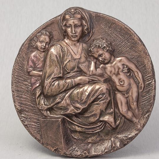"""Медальон """"Мария с Иисусом"""" (22 см), без упаковки (00BR-75383 A4)"""