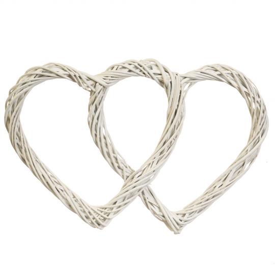 """УЦЕНКА Венок подвесной из лозы """"Изящное сердце"""" 45*30 см (5002-018)"""