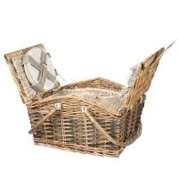 Корзинка для пикника (40*30*19 см) 4 персоны