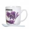 """Чашка  """"Букет лаванды"""" 200 мл.*рандомный выбор дизайна (8201-002)"""