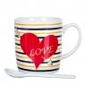 """Чашка """"Сердце"""" 200 мл. *рандомный выбор дизайна (8201-006)"""