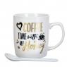 """Чашка """"Love coffe"""" 200 мл. *рандомный выбор дизайна (8201-007)"""