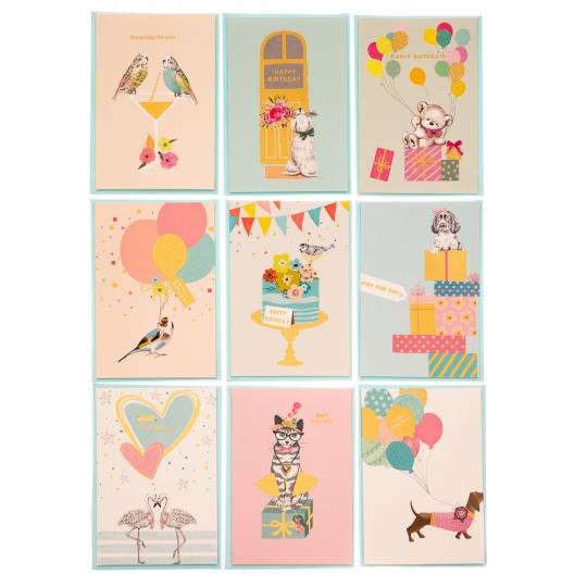 """Праздничная открытка """"Милые животные"""" (8012-003)"""