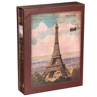 """Фотоальбом """"О, Париж!"""" Коричневый цвет, 200 фото, 10х15см"""