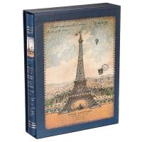 "Фотоальбом ""О, Париж!"" Синий цвет, 200 фото, 10х15см"