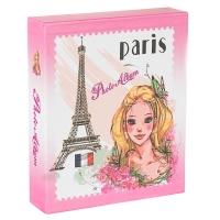 """Фотоальбом """"Девушка в Париже"""" 200 фото, 10х15см"""