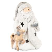 """Фигурка светящаяся """"Санта и его помощник"""""""