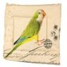 "Подушка для стула ""Попугай"" (0394JH)"