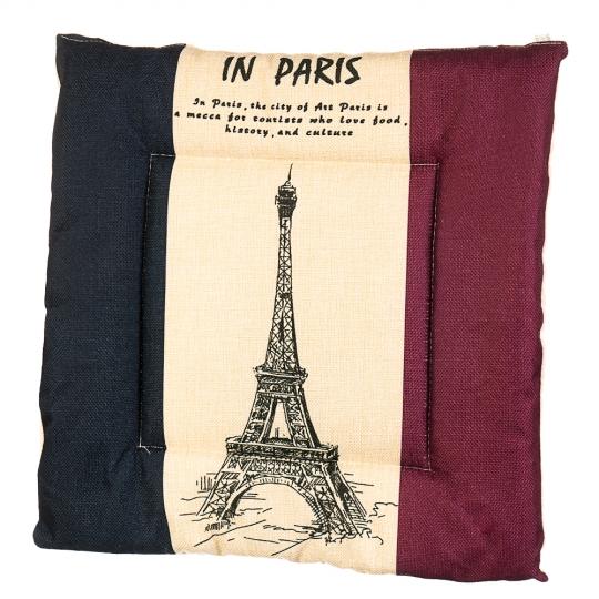 """Подушка для стула """"Французский флаг"""" (0396JH)"""