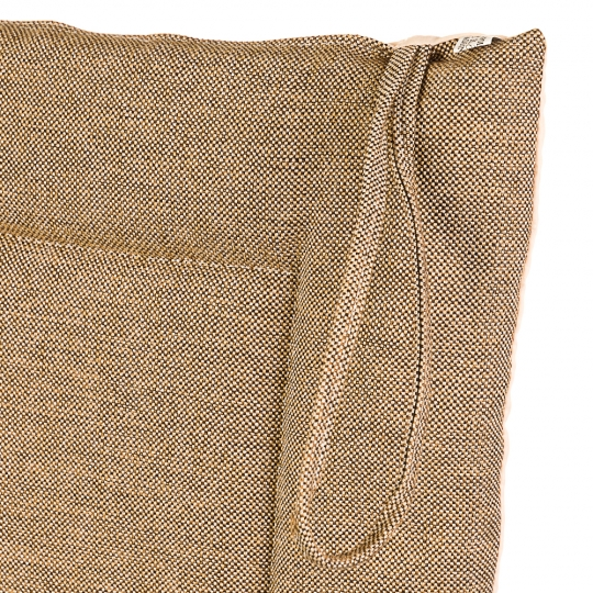 """Подушка для стула """"Однотонная бежевая"""" (0397JH)"""