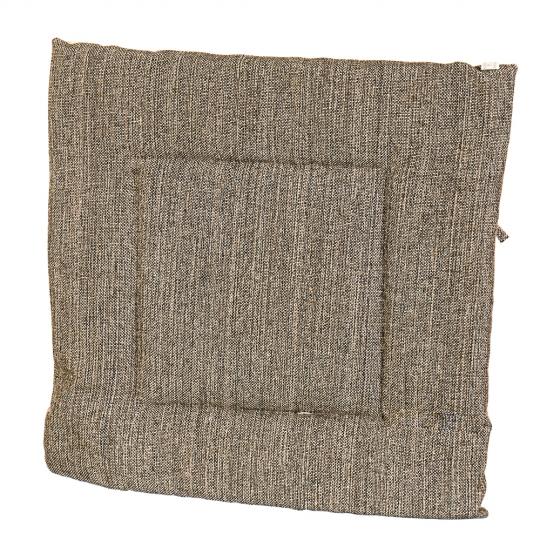 """Подушка для стула """"Однотонная серая"""" (0399JH)"""