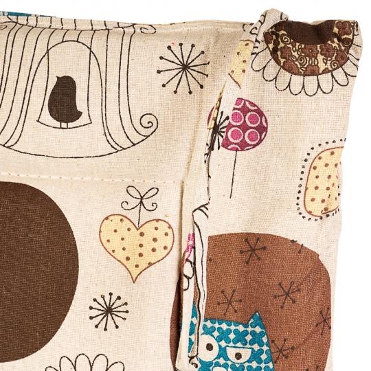 """Подушка для стула """"Совы"""" (0402JH)"""