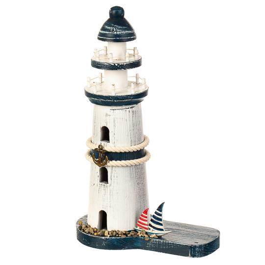 Светящийся маяк с фигуркой морячки (095JH)