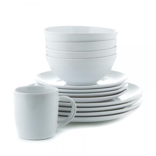 Набор столовый (16 предметов на 4 персоныны) (002AA/WHITE)