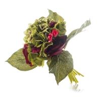 Роза и гортензия (27 см)